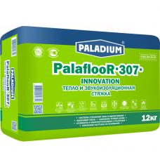 Стяжка пола Paladium ParaflooR-307 теплозвукоизоляционная с пеностеклом 12 кг
