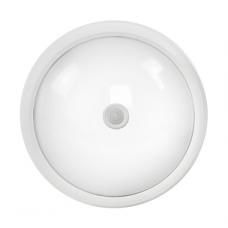 Светильник светодиодный LLT СПП-Д 2103 круглый IP65 8 Вт 4000 К с датчиком движения
