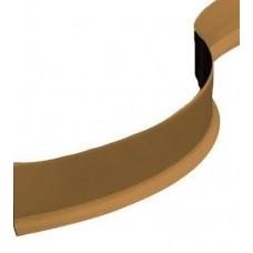 Плинтус гибкий ПВХ Progress Plast BTPVM-60 коричневый 50000х60х10 мм