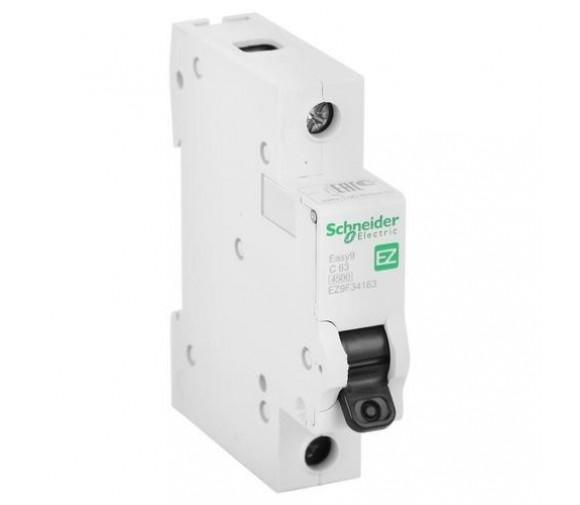 Автоматический выключатель Schneider Electric EASY 9 1П C 63А 4,5кА