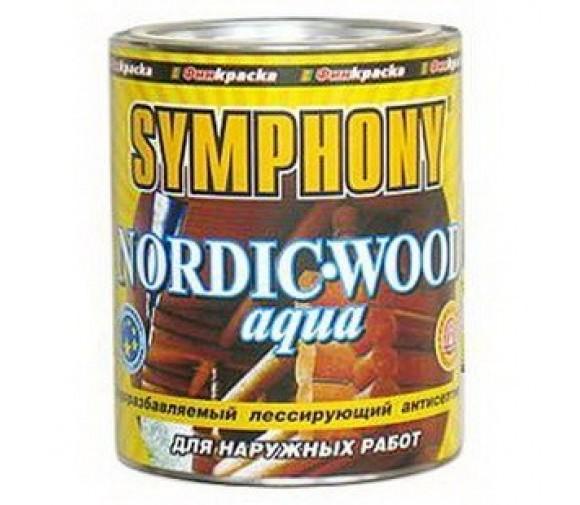 Антисептик Symphony Nordic Wood Aqua 2,7 л