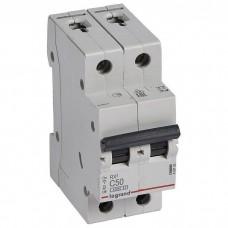 Автоматический выключатель Legrand RX3 419702 2P C 50A 4,5 кА