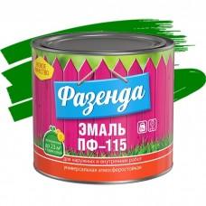 Ленинградские краски ПФ-115 Фазенда зеленая 1,9 кг