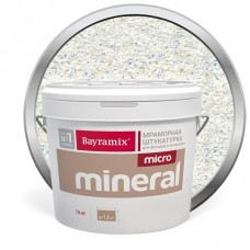 Штукатурка мраморная декоративная Bayramix Micro Mineral P-09 15 кг