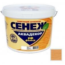 Антисептик тонирующий Сенеж Аквадекор 112 Дуб 9 кг