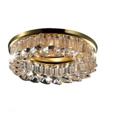 Светильник встраиваемый Novotech Bob 369453 NT09 188 золото/прозрачный GX5.3 50W 12V