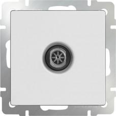 Механизм телевизионной розетки Werkel WL01-TV-2W одноместный проходной белый