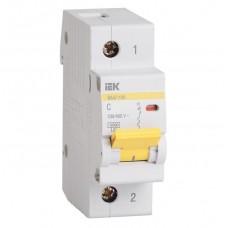 Автоматический выключатель IEK ВА47-100 1Р 80А С