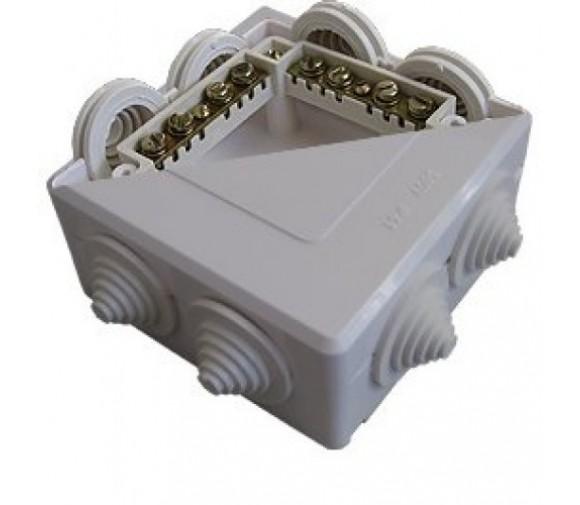 Коробка распределительная Кунцево-Электро ОП ПГ КОА-001 5953 78х78х42 мм с клеммником
