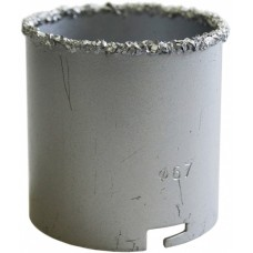 Коронка кольц. с карб-вольфрам нап. д-67мм (h55мм)