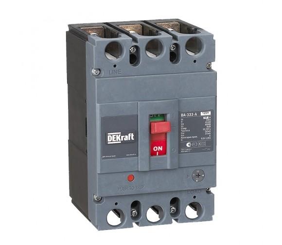 Автоматический выключатель DEKraft ВА-333-А 125А 50кА