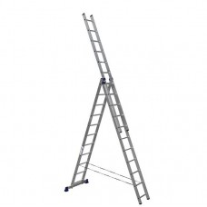 Лестница трехсекционная Алюмет 5311 3х11
