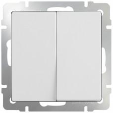 Механизм выключателя Werkel WL01-SW-2G двухклавишный белый