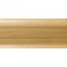 Плинтус ПВХ Ideal Комфорт К55 233 Бук Светлый 2500х55х22 мм