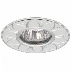 Светильник точечный встраиваемый Italmac Stella 51 5 01 MR16 белый с хромом 50 Вт