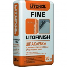 Шпатлевка финишная полимерная Litokol Litofinish Fine белая 20 кг