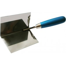 Кельма угловая ПРОФИ (внутренняя) деревянная ручка CrV 75х75х110