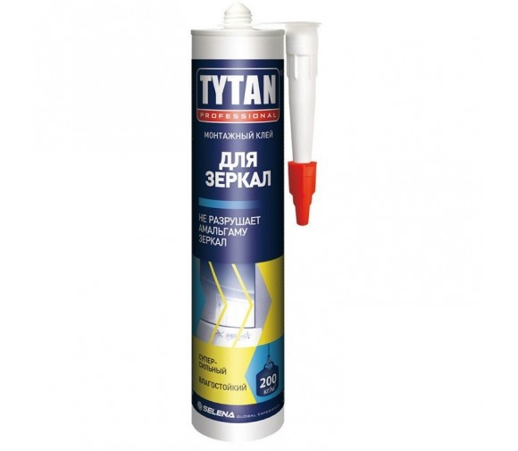 Монтажный клей Tytan Professional для зеркал бежевый 310 мл