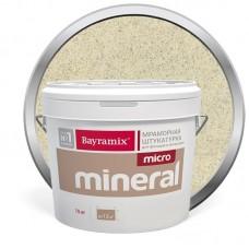 Штукатурка мраморная декоративная Bayramix Micro Mineral 604 15 кг