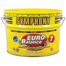 Symphony Euro-Balance 7 A матовая 9 л пластиковое ведро