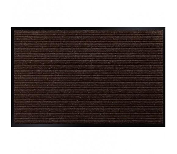 Коврик влаговпитывающий Double Stripe Doormat коричневый 600х900 мм