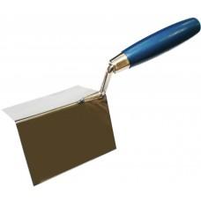 Кельма угловая ПРОФИ (внешняя) деревянная ручка CrV 60х60х80