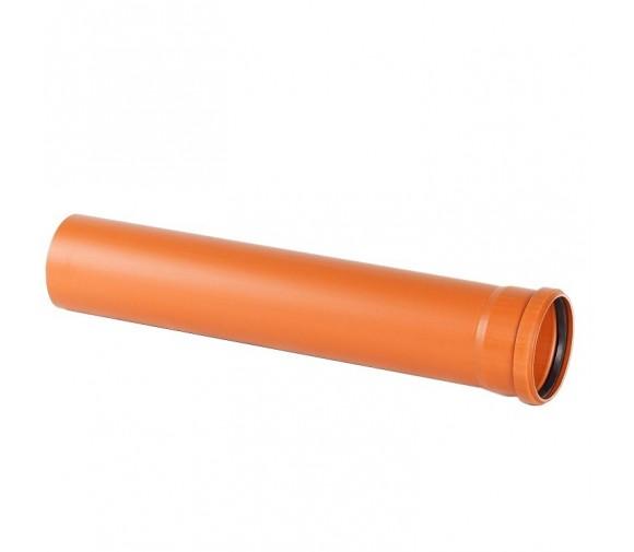 Труба наружная ПВХ Хемкор SN4 250х6,2х1200 мм