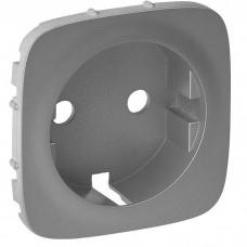 Лицевая панель для розетки Legrand Valena Allure 755207 одноместная алюминий