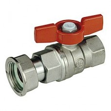 Кран шаровой Giacomini R752X003 стандартнопроходной латунный с отводом