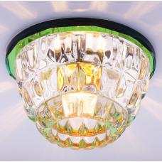 Светильник точечный встраиваемый Italmac Bohemia 220 1 72 G9 мультиколор 40 Вт