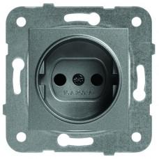 Механизм розетки Panasonic Karre Plus WKTT02012DG-RES темно-серый