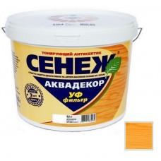 Антисептик тонирующий Сенеж Аквадекор 105 Калужница 9 кг