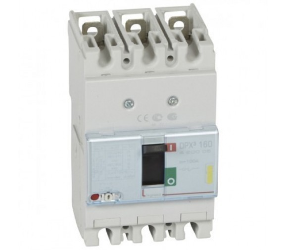 Автоматический выключатель Legrand DPX3 160 420005 3P 100A 16 кА