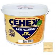 Антисептик тонирующий Сенеж Аквадекор 102 бесцветный 0,9 кг