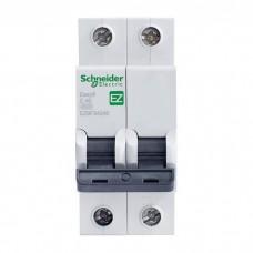 Автоматический выключатель Schneider Electric EASY 9 2П C 40А 4,5кА
