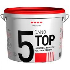 Шпатлевка финишная полимерная Danogips Dano Top 5  10 л