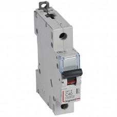 Автоматический выключатель Legrand DX3-E 407267 1P C 40A 6кА