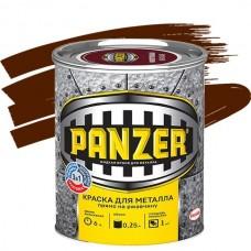Panzer гладкая коричневая 0,25 л
