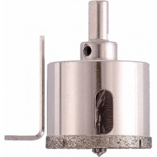 Коронка алмазная по стеклу и керамограниту 68 х 67 мм