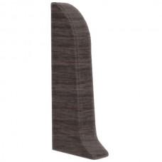 Заглушка для плинтуса ПВХ Kronplast 534 Дуб Серый левая 1 штука
