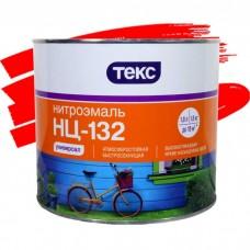 Эмаль Текс Нитро НЦ-132 красная 1,8 кг