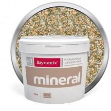 Штукатурка мраморная декоративная Bayramix Mineral 914 15 кг
