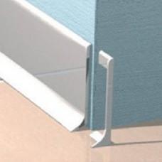 Заглушка для алюминиевого плинтуса Progress Plast TPBAA 60 правая
