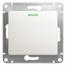 Механизм выключателя Schneider Electric Glossa GSL000613 одноклавишный с индикатором перламутр