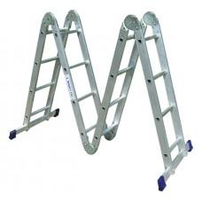 Лестница-трансформер 4х4 ступени Алюмет