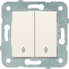 Механизм переключателя Panasonic Karre Plus WKTT00112BG-RES двухклавишный проходной кремовый