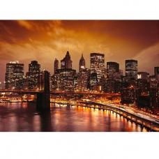 Фотообои виниловые на флизелиновой основе Decocode Бруклинский мост 41-0024-WV 4х2,8 м