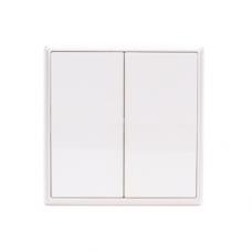 Выключатель дистанционный Gritt Elegance B180100W двухклавишный белый