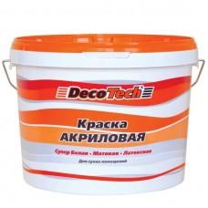 Краска акриловая DecoTech 10 л
