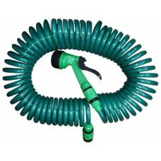 Набор для полива (спиральный шланг 3/4+ пистолет-распылитель)
